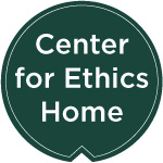 Center for Ethics Home button
