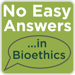 No Easy Answers in Bioethics logo